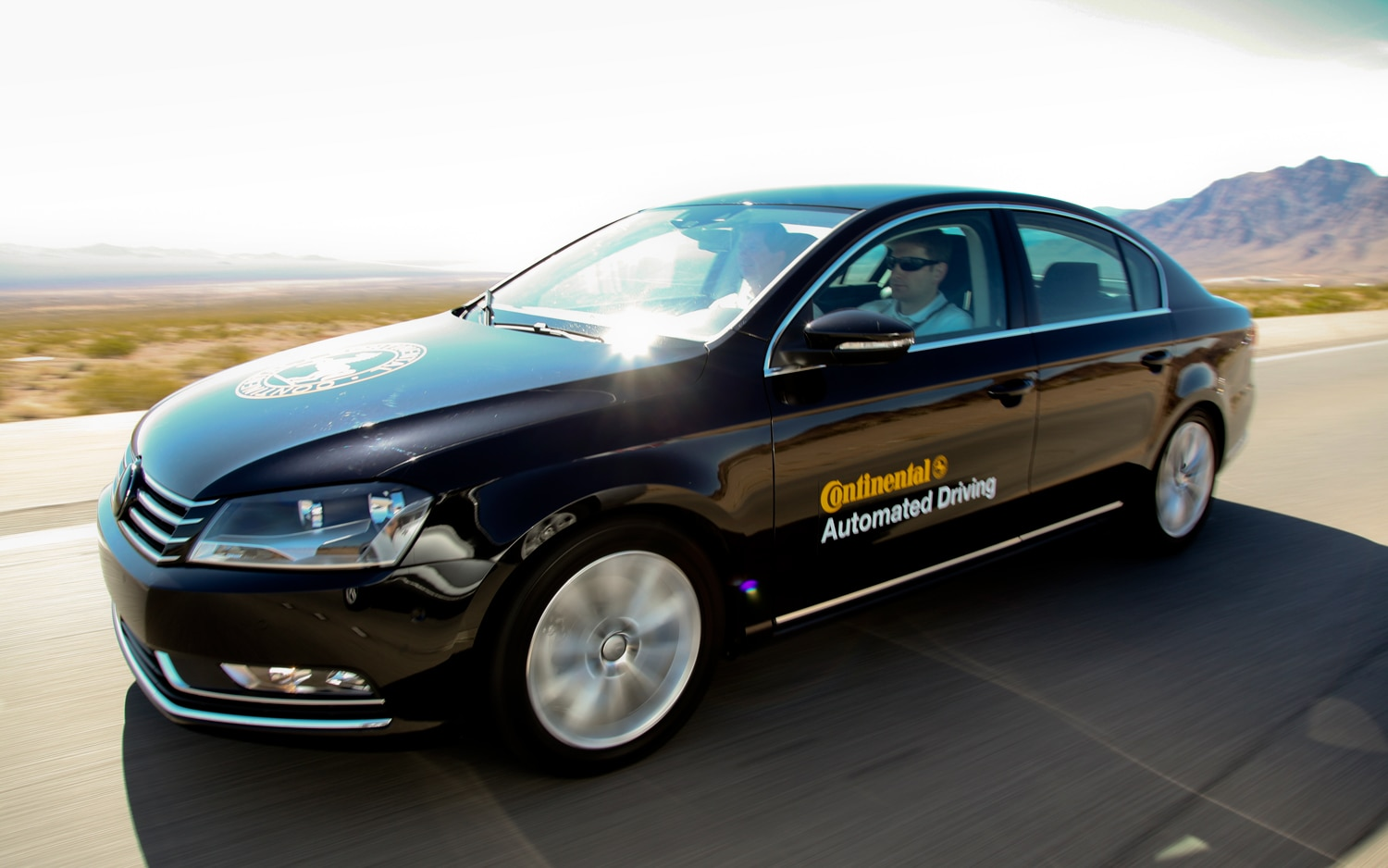 Volkswagen Passat Continental Automated Driving Car In Motion1