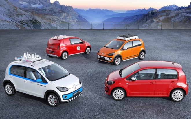 Volkswagen Up Variants For Geneva 660x413
