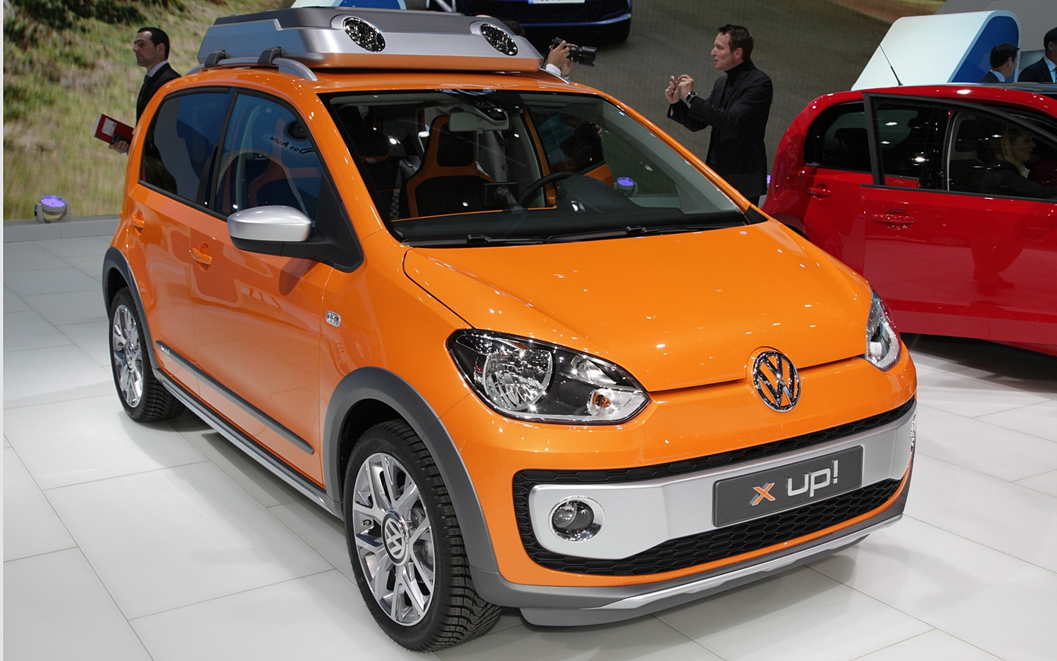Volkswagen X Up Front Three Quarter1