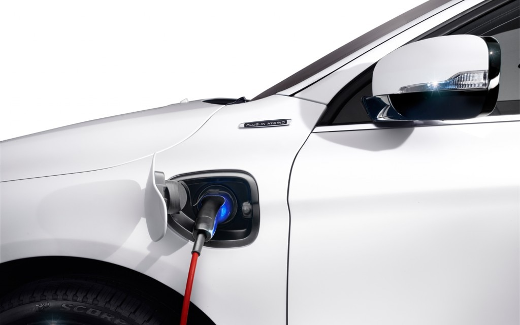 Volvo XC60 Plug In Hybrid Concept Charging Port 1024x6401
