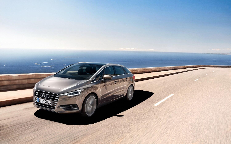 Audi A4 Superavant Front Left Side View
