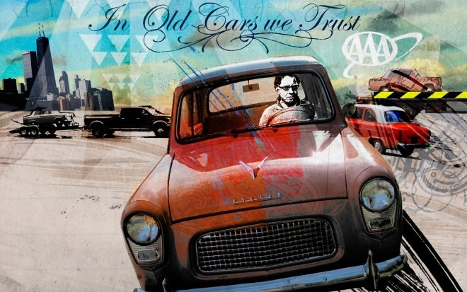 In Old Cars We Trust Illustration 660x413