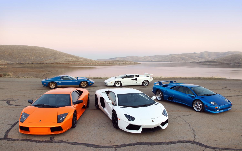 Lamborghini Parked1