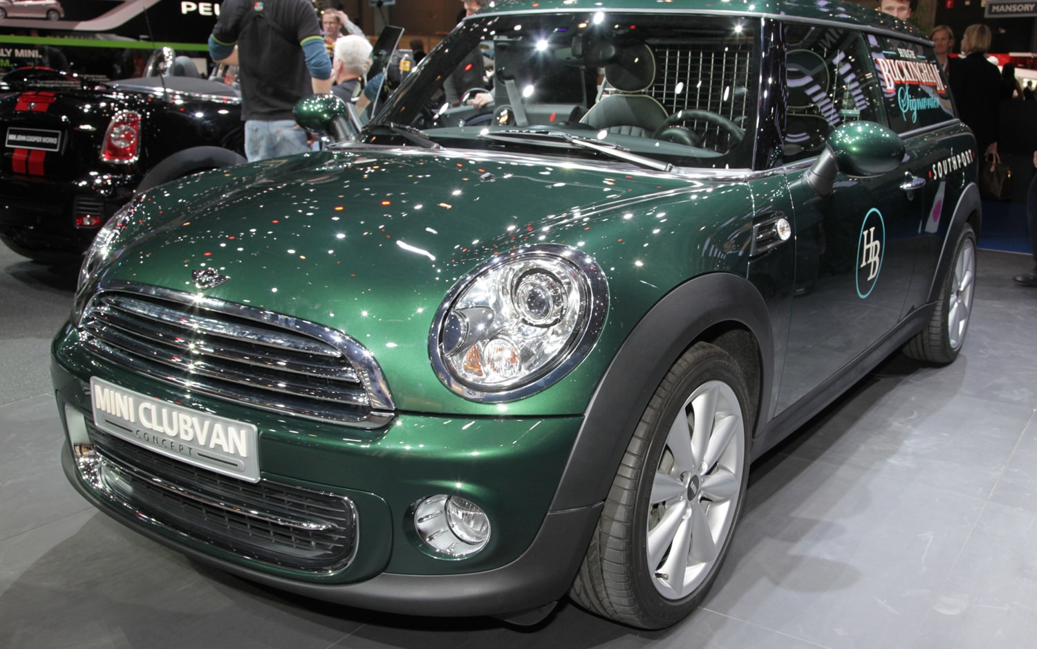 Mini Clubvan Concept Front Left View1