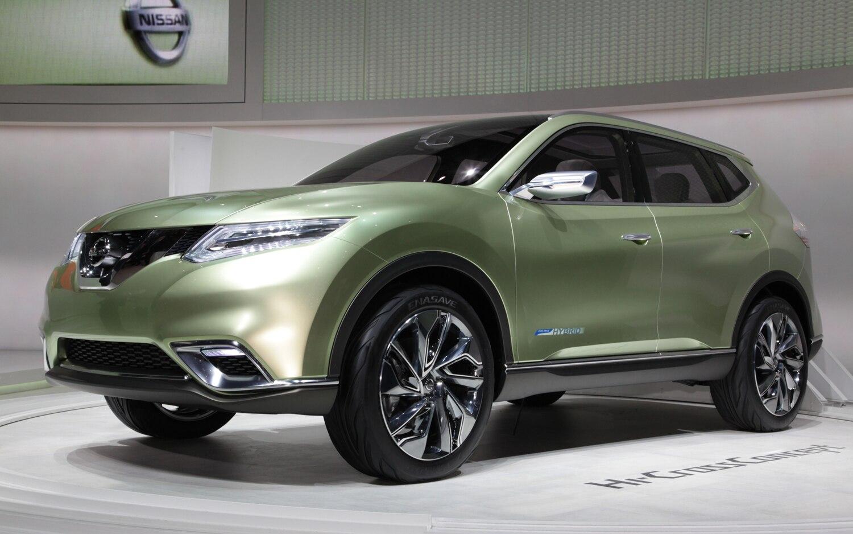 Nissan Hi Cross Concept Front Left Side View1