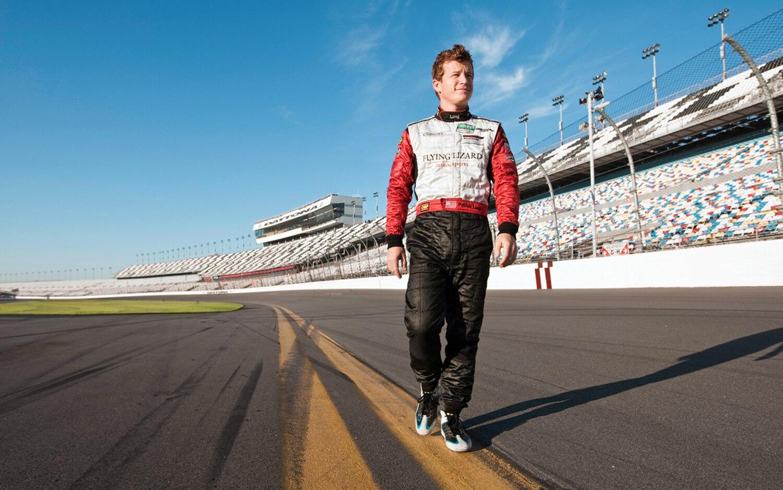 Patrick Long On Track