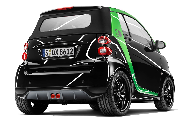 Smart BRABUS Electric Drive Rear 31