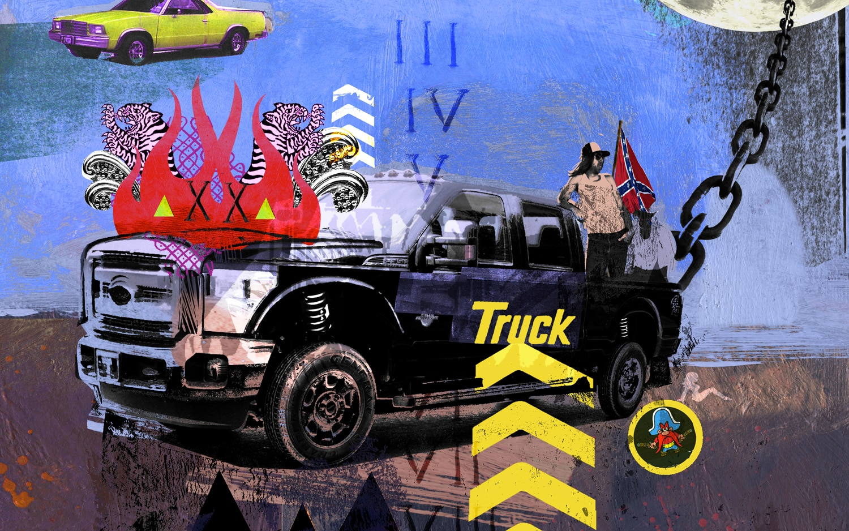Ten Truck Commandments Illustration