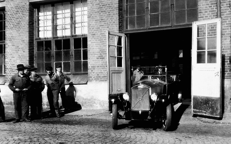 1927 Volvo OV4 Original At Factory1
