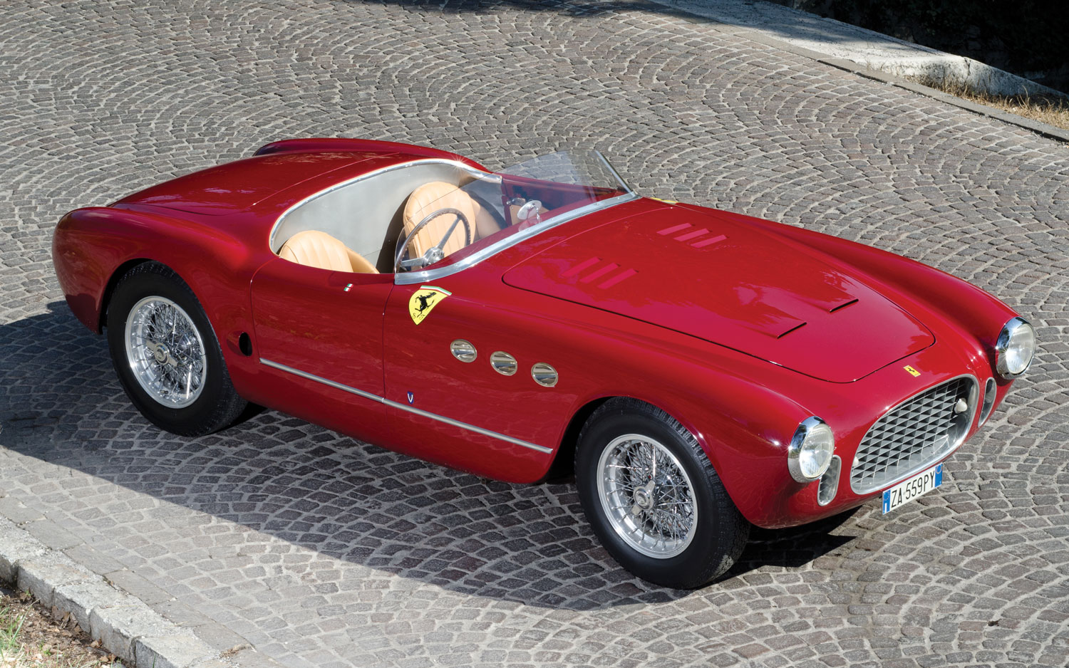 hill chicane s the available phil for ferrari hills barchetta sale front