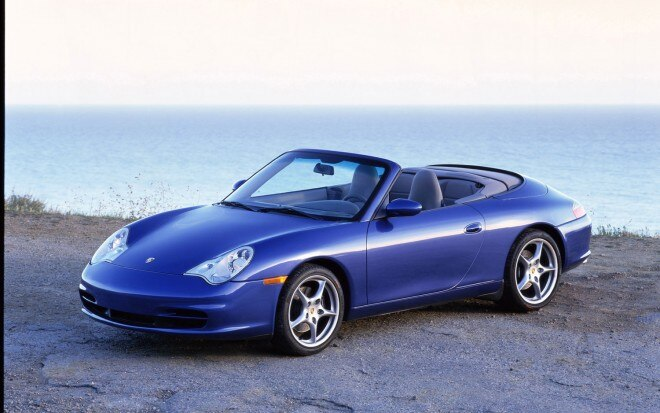 2003 Porsche 911 Carrera Cabriolet Front Left Side 1 660x413