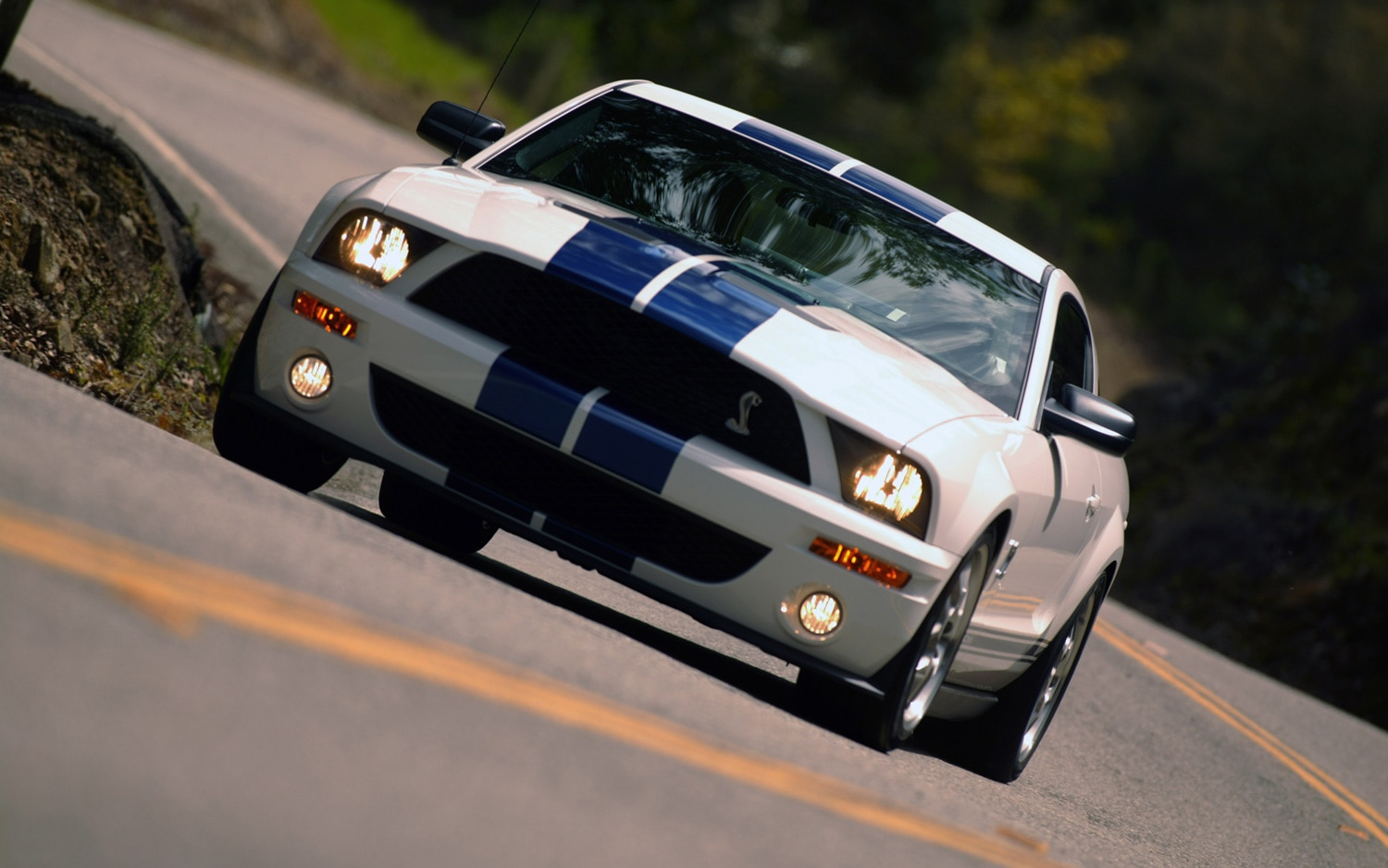 ford mustang celebrates its 48th birthday. Black Bedroom Furniture Sets. Home Design Ideas