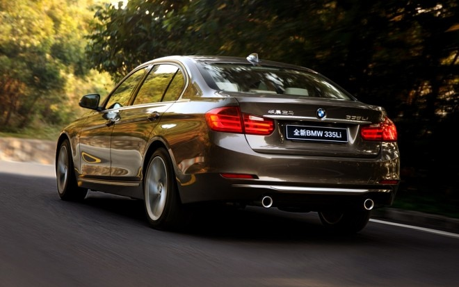 2012 BMW 3 Series LWB Rear Three Quarter1 660x413