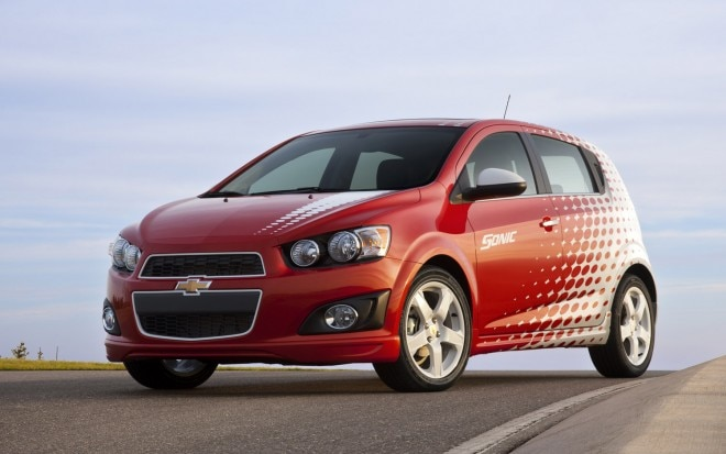 2012 Chevrolet Sonic Front Three Quarter1 660x413