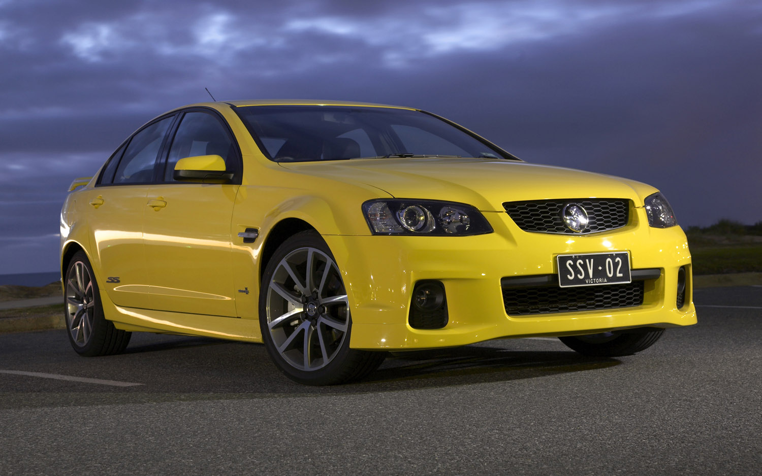 2012 Holden Commodore Front Three Quarter Yellow1