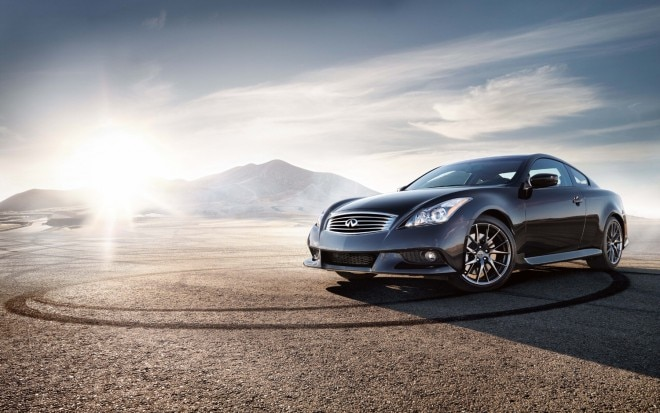 2012 Infiniti G37 IPL Coupe Front Three Quarter1 660x413