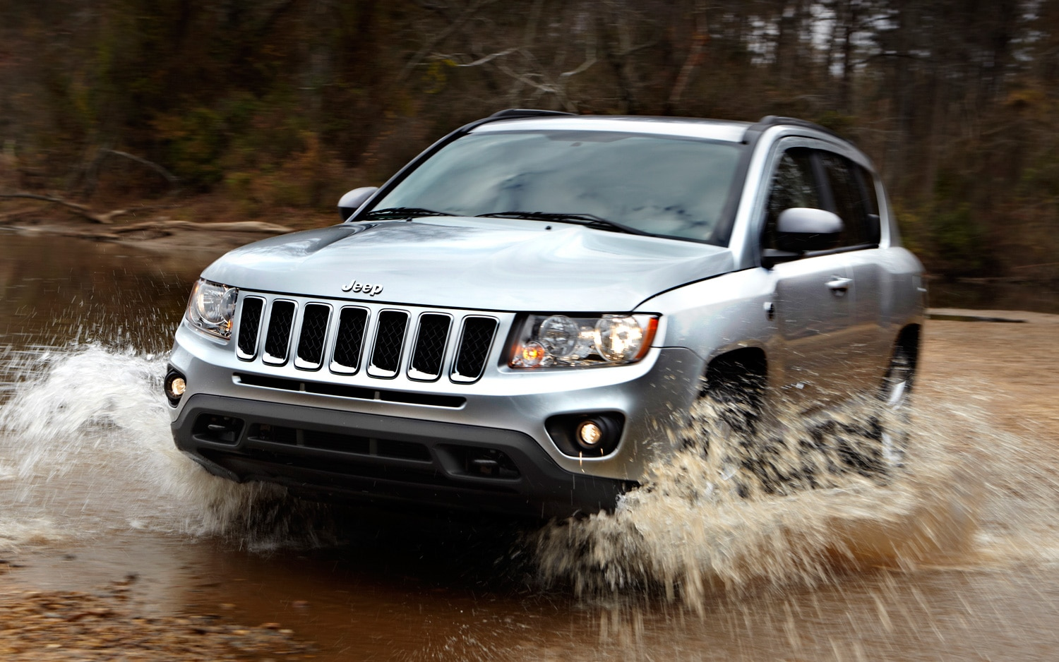 2012 Jeep Compass Front Three Quarter1