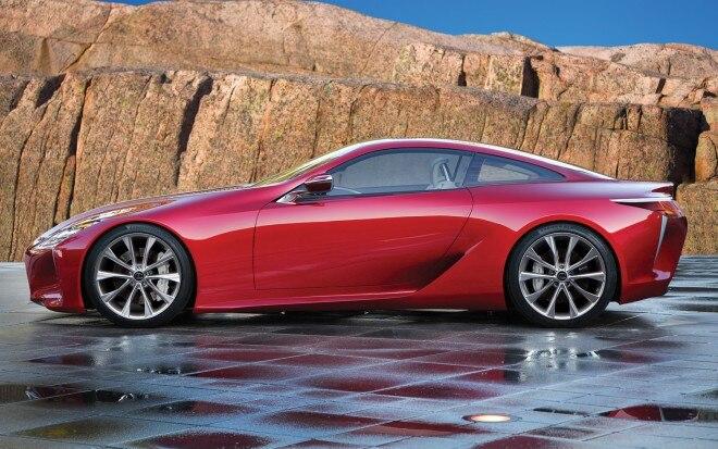 2012 Lexus GS Coupe Left Side View1 660x413