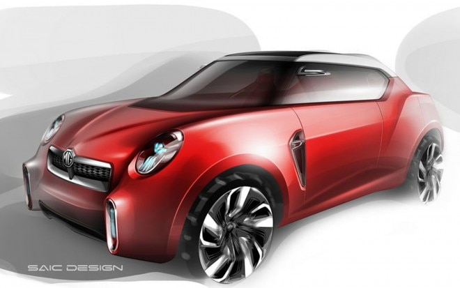 2012 MG Icon Concept Sketch Front Three Quarter1 660x413