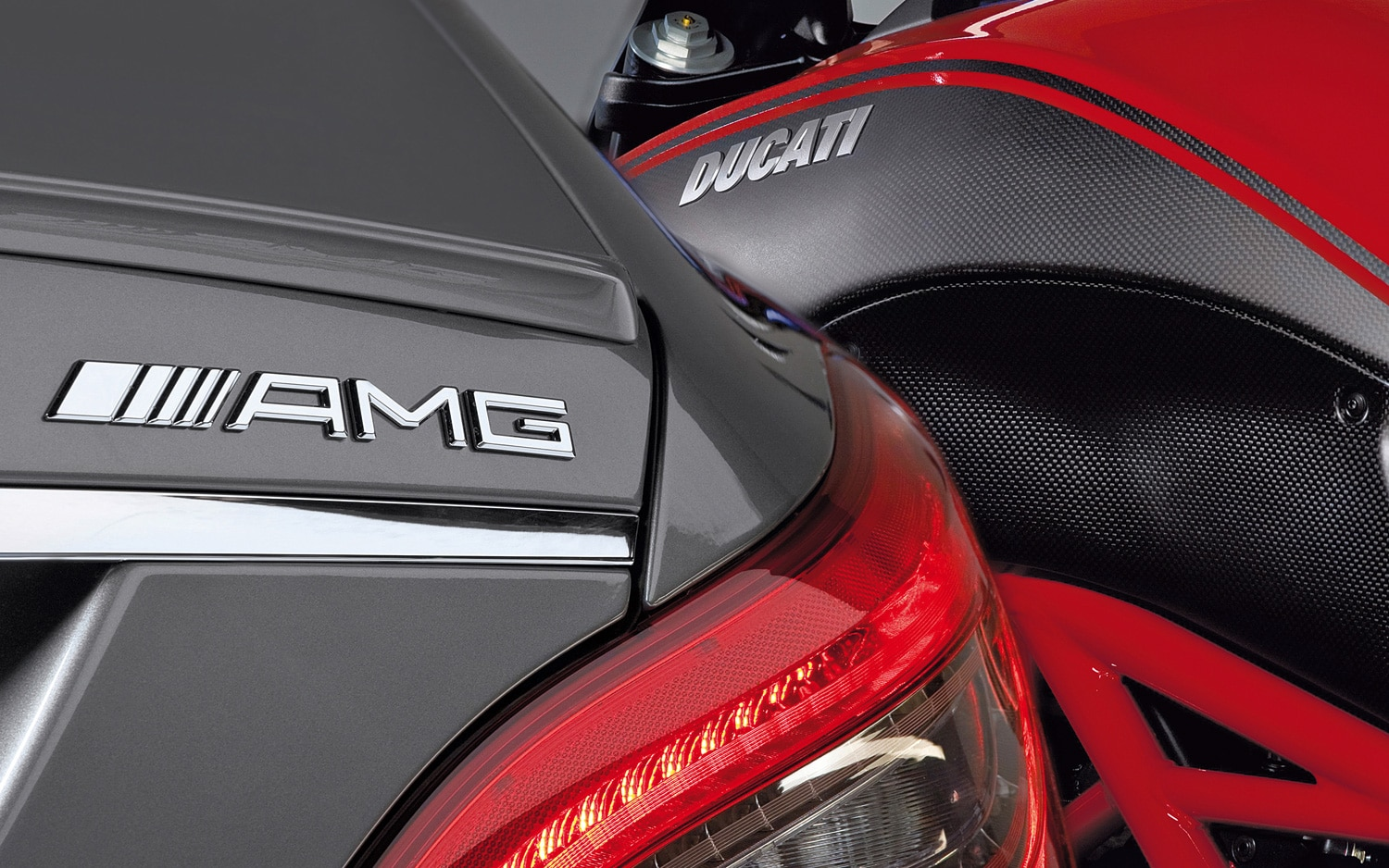 2012 Mercedes Benz CLS63 AMG And Ducati Diavel 41
