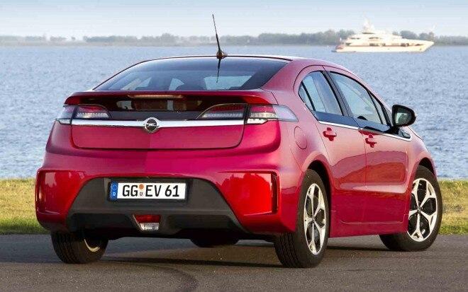 2012 Opel Ampera Rear Three Quarter1 660x413