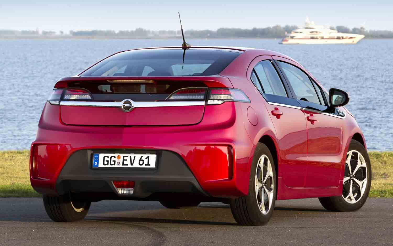 2012 Opel Ampera Rear Three Quarter1