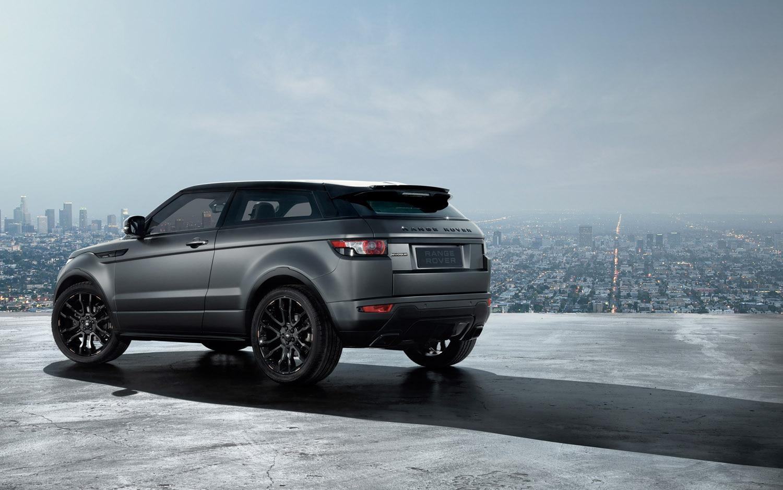 2012 Range Rover Evoque Victoria Beckham Rear Three Quarter1