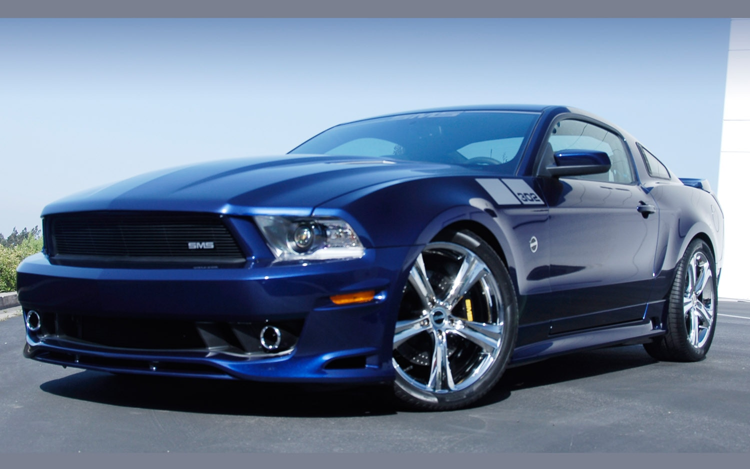 2012 Saleen 302 Mustang Front Three Quarter1