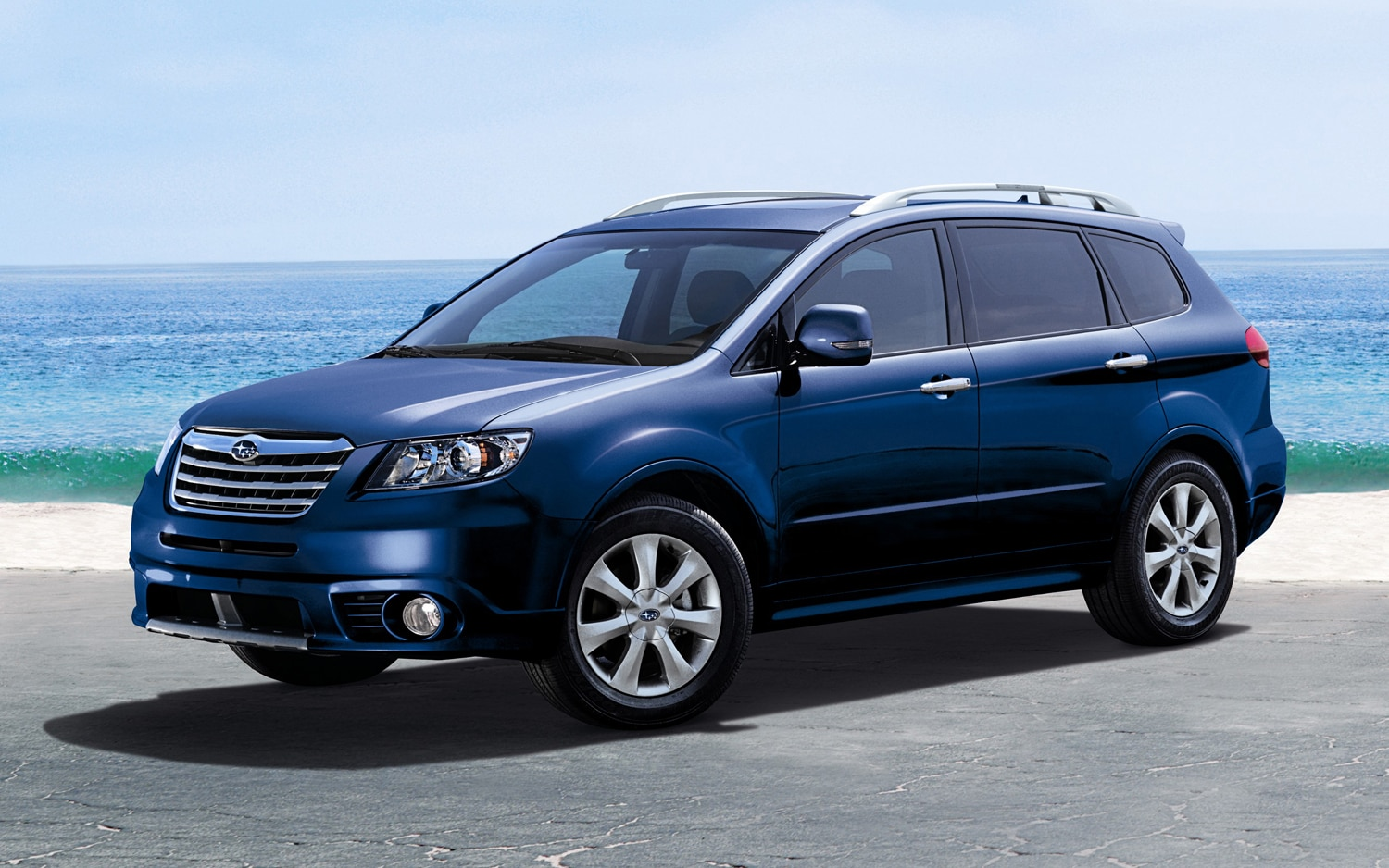 2012 Subaru Tribeca Touring Front Three Quarters1