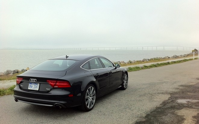2012 Audi A7 Rear Right Side View2 660x413