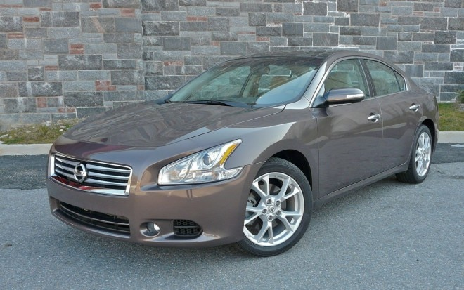 2012 Nissan Maxima Front Left View 660x413