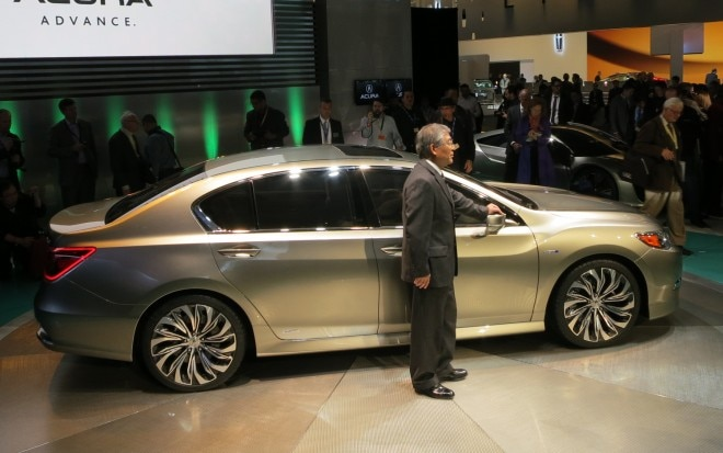 2013 Acura RLX Concept Side With Tetsuo Iwamura1 660x413