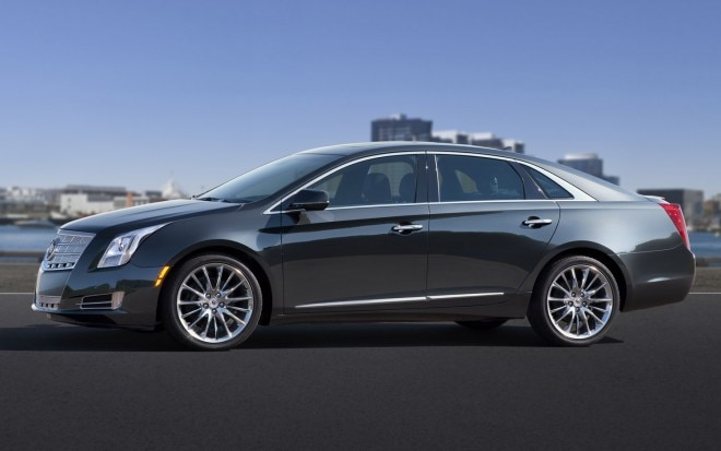 2013 Cadillac XTS Left Side View1 660x413