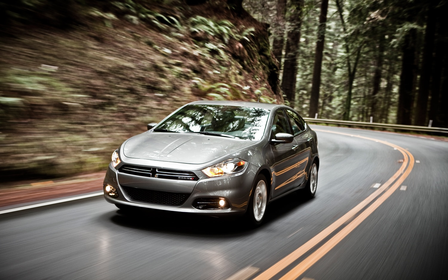 2013 Dodge Dart Front Three Quarter In Motion 31