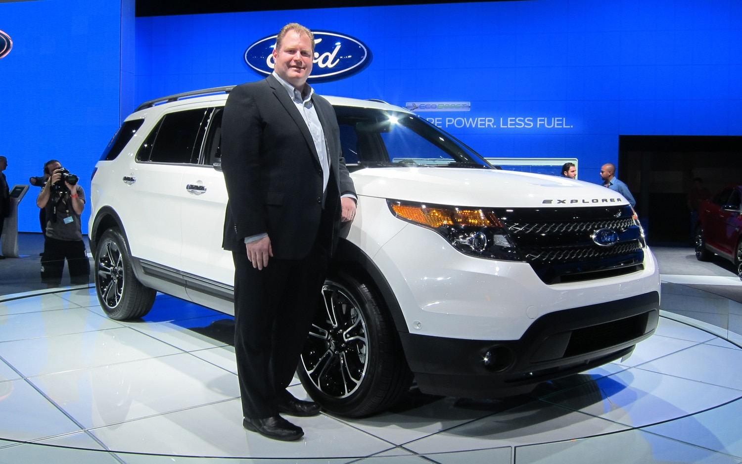 2013 Ford Explorer Sport Chief Engineer Bill Gubing1
