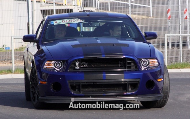 2013 Ford Shelby GT500 At Nurburgring Front View AM1 660x413