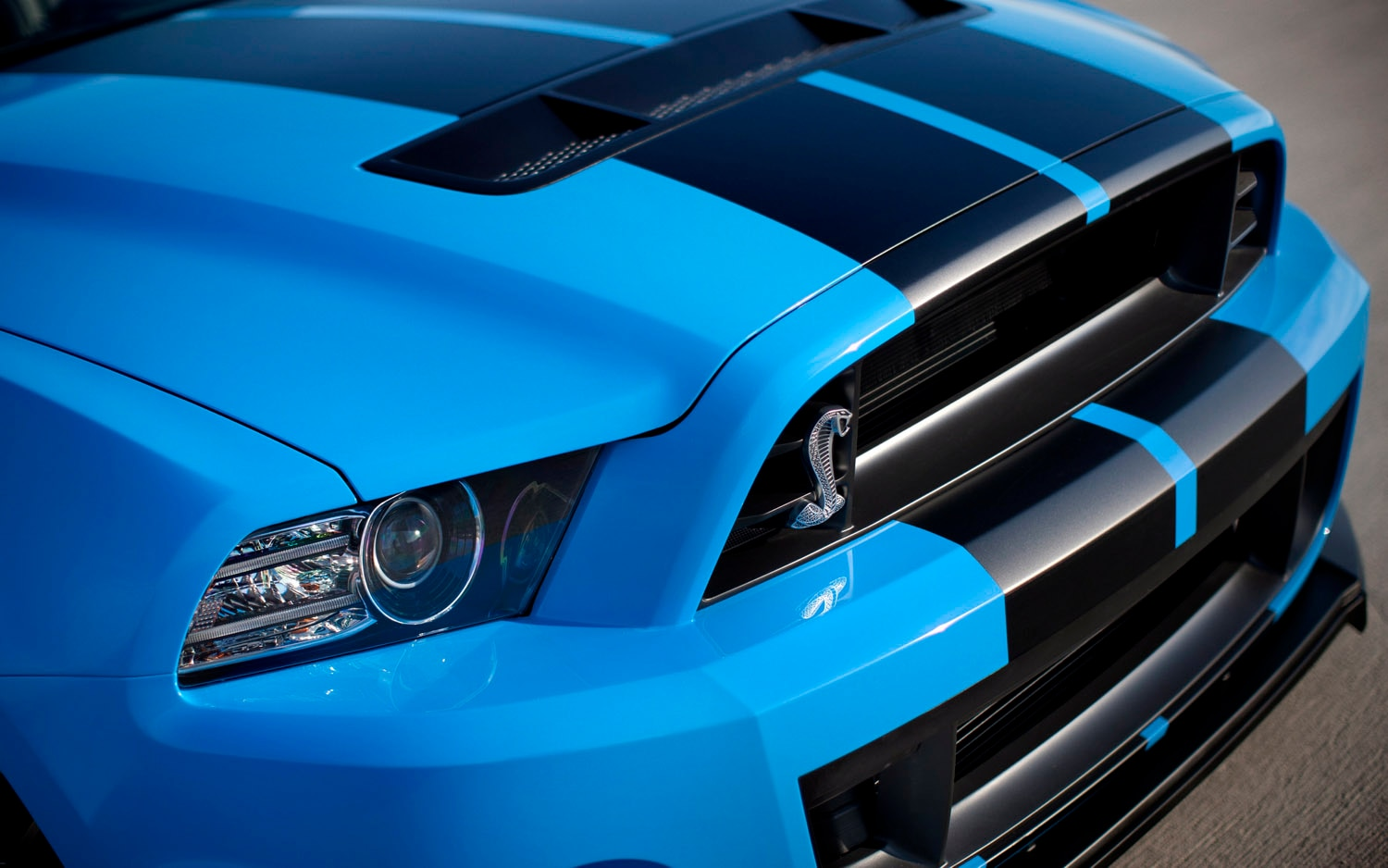 2013 Ford Shelby GT500 Front Clip1