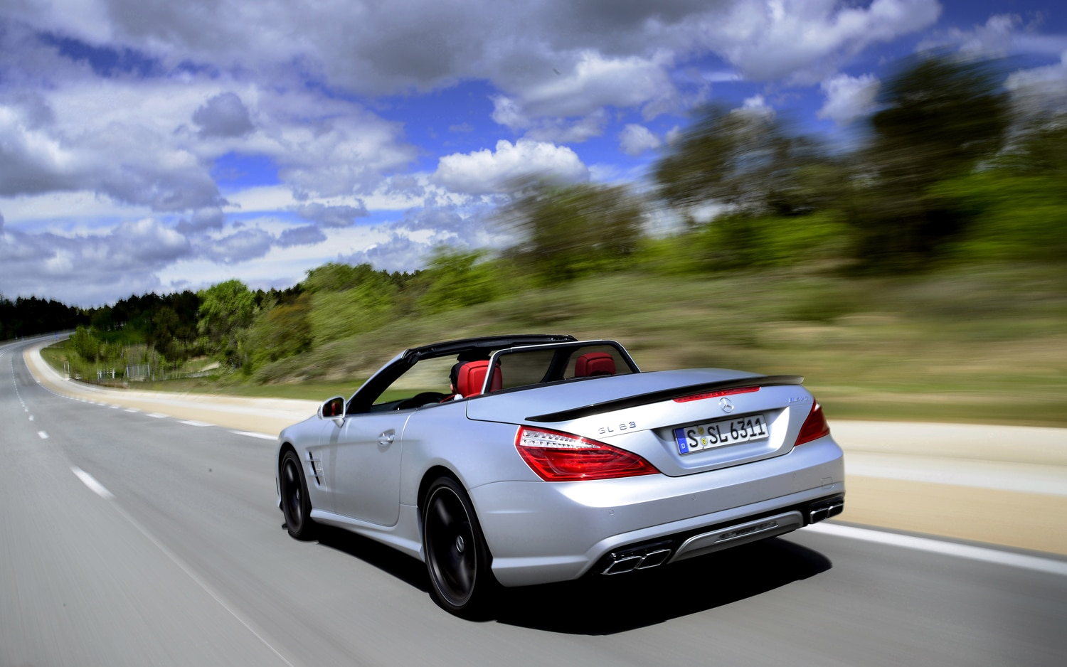First drive 2013 mercedes benz sl63 amg automobile magazine for How much is a mercedes benz amg