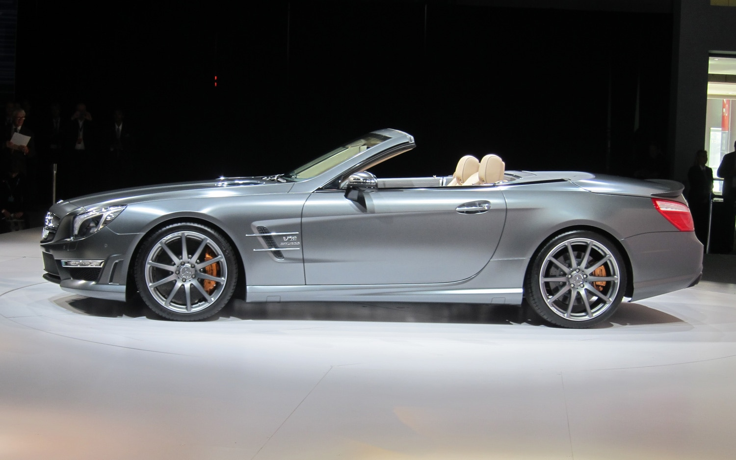 New york 2012 mercedes benz launches 186 mph sl65 amg for Mercedes benz sl65 amg