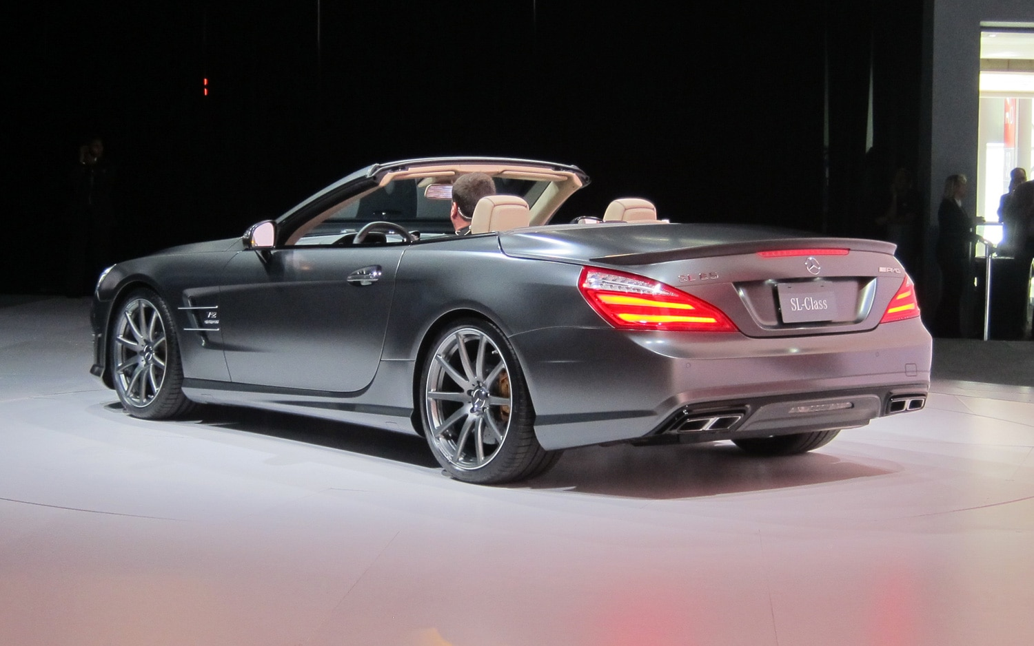 New york 2012 mercedes benz launches 186 mph sl65 amg for Mercedes benz of new york