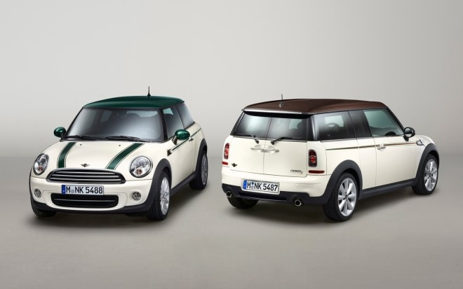 2013 Mini Cooper Green Park And Hyde Park Front And Rear Three Quarters1 660x413