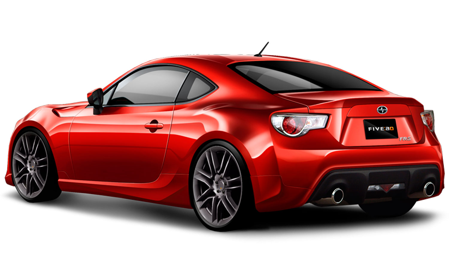 2013 scion fr s performance parts include new five axis body kit. Black Bedroom Furniture Sets. Home Design Ideas