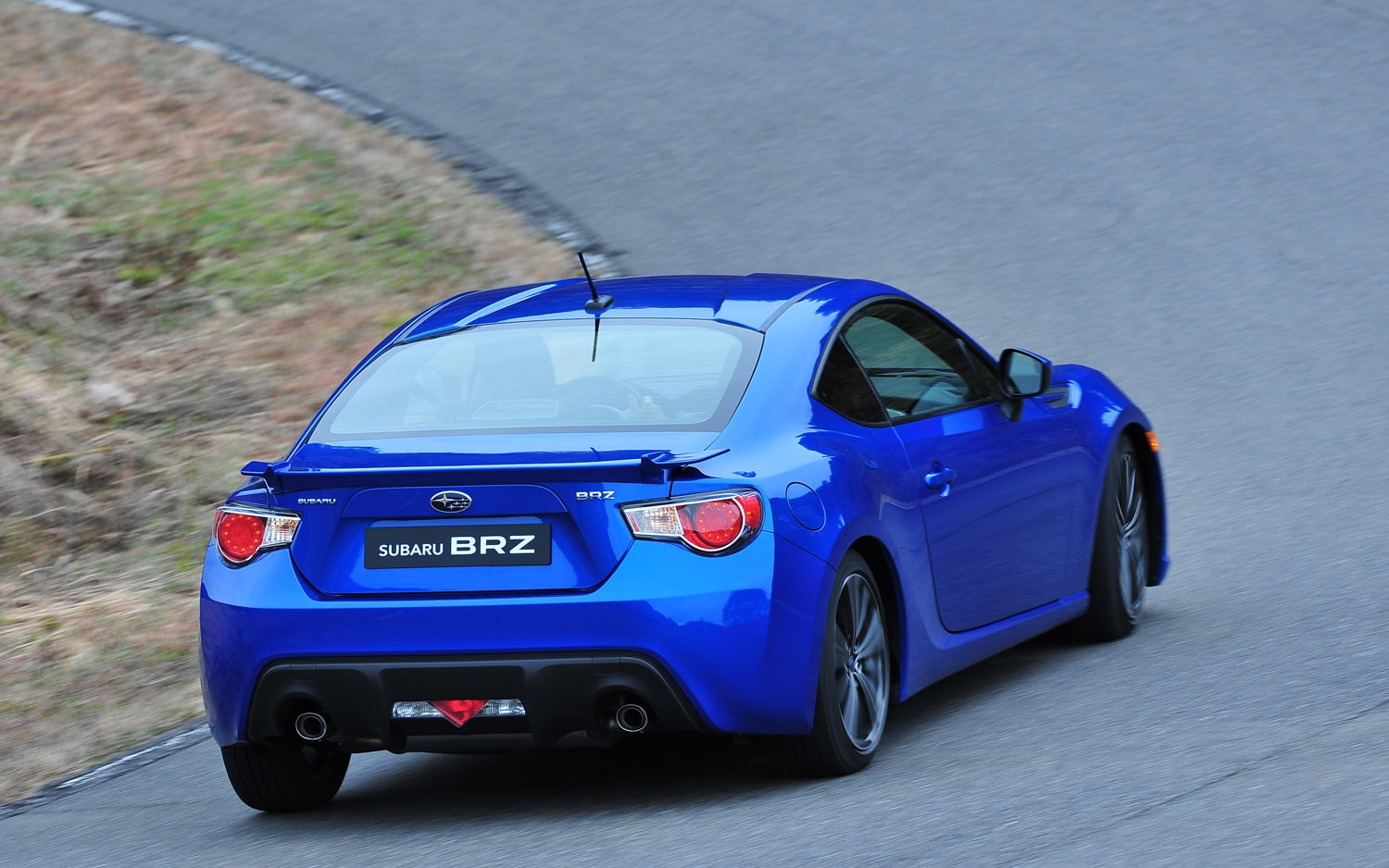 2013 Subaru BRZ Rear Three Quarter1