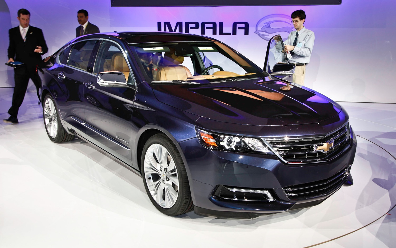 first look: 2014 chevrolet impala - automobile magazine