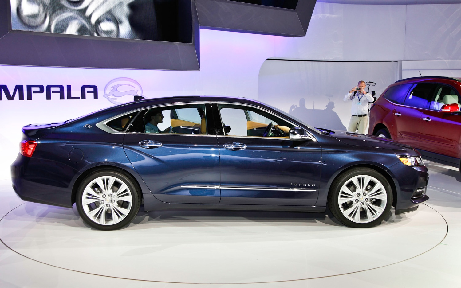 First look 2014 chevrolet impala automobile magazine the profile recalls the impalas voltagebd Image collections