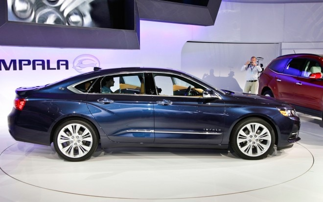 2014 Chevrolet Impala Side 2