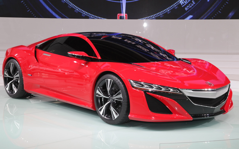 Acura NSX Concept Front Three Quarters1
