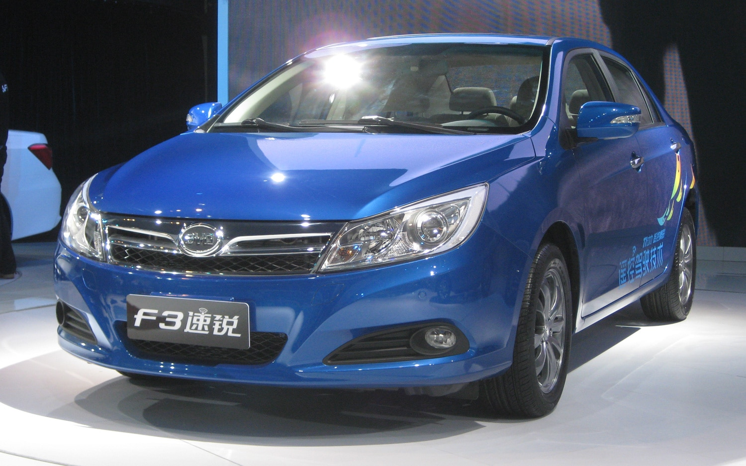 BYD F3 Front Three Quarter1