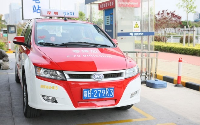 BYD E6 Taxi Front1 660x413