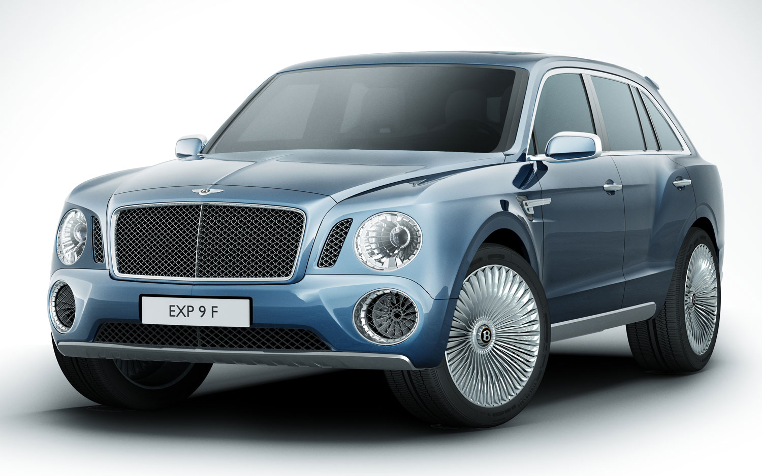 Bentley EXP 9 F SUV Concept Front Three Quarters View1